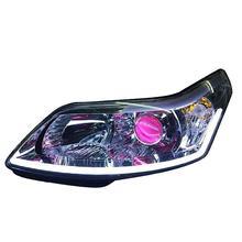 Cob дневные ходовые огни для автомобилей, стильная лампа, наружные светодиодные Drl Автомобильные фары для Citroen C-quatre