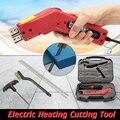 250 W Styropor Elektrische Schaum Wärme Draht Werkzeug Grooving Cutter Klingen Verschiedene Kit Neue Hand Halten Heizung Messer Cutter Heißer cutter