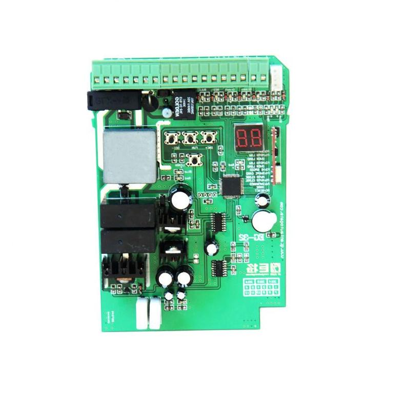 sliding gate opener motor pcb circuit board controller card for DC24V  motor control board automatic sliding gate opener drive gate for 3600lbs 1800kg door gate with remote controller