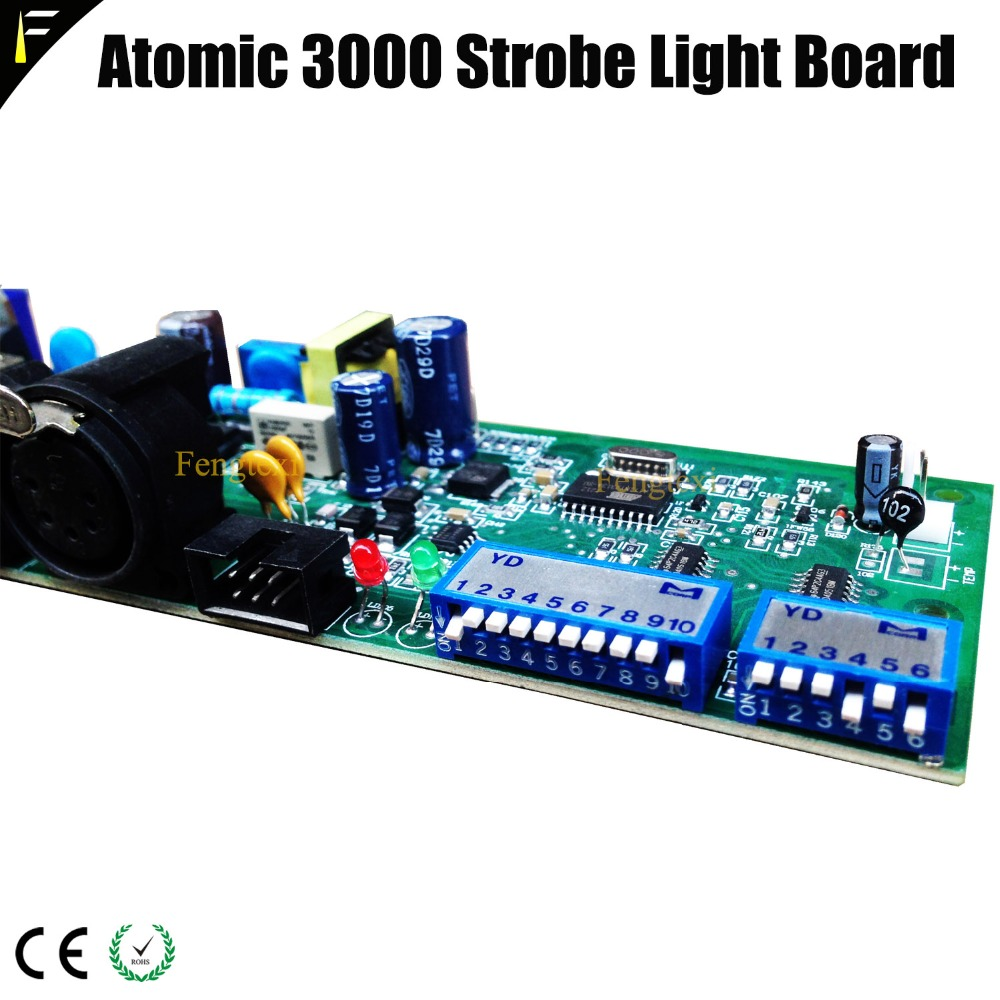 Atomic 3000w Strobe Lighting Accessoties Program Board Replacing Atomic 3000 Main Board Atomic Stage Light Board ftdi usb rs485 xlr dmx512 stage lighting equipment controller cable for sgm dmxking dmxcontrol freestyler dmx cable