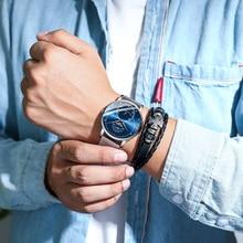 цена 2019 NEW Fashion Watch Men Waterproof Slim Mesh Strap Men Wrist Watches For Man Quartz Sports Watches Clock Relogio Masculino онлайн в 2017 году