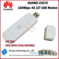 Wholesale Original Unlock LTE FDD 150Mbps HUAWEI E3272 4G LTE Modem Support LTE FDD 800/900/1800/2100/2600Mhz