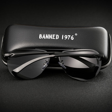 Aluminum magnesium HD polarized fashion Sunglasses