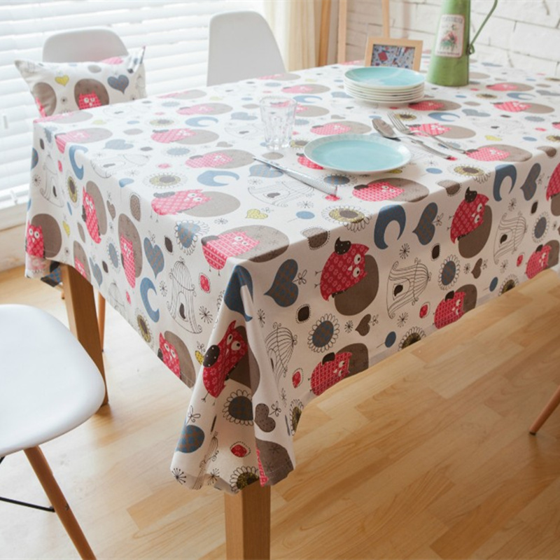 hot sale europe owl table cloth table decoration banquet. Black Bedroom Furniture Sets. Home Design Ideas