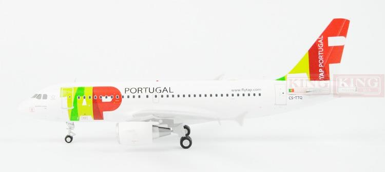 Offer: Wings XX2455 Special JC Portugal Airlines CS-TTQ 1:200 A319 commercial jetliners plane model hobby spike wings xx4502 jc turkey airlines b777 300er san francisco 1 400 commercial jetliners plane model hobby