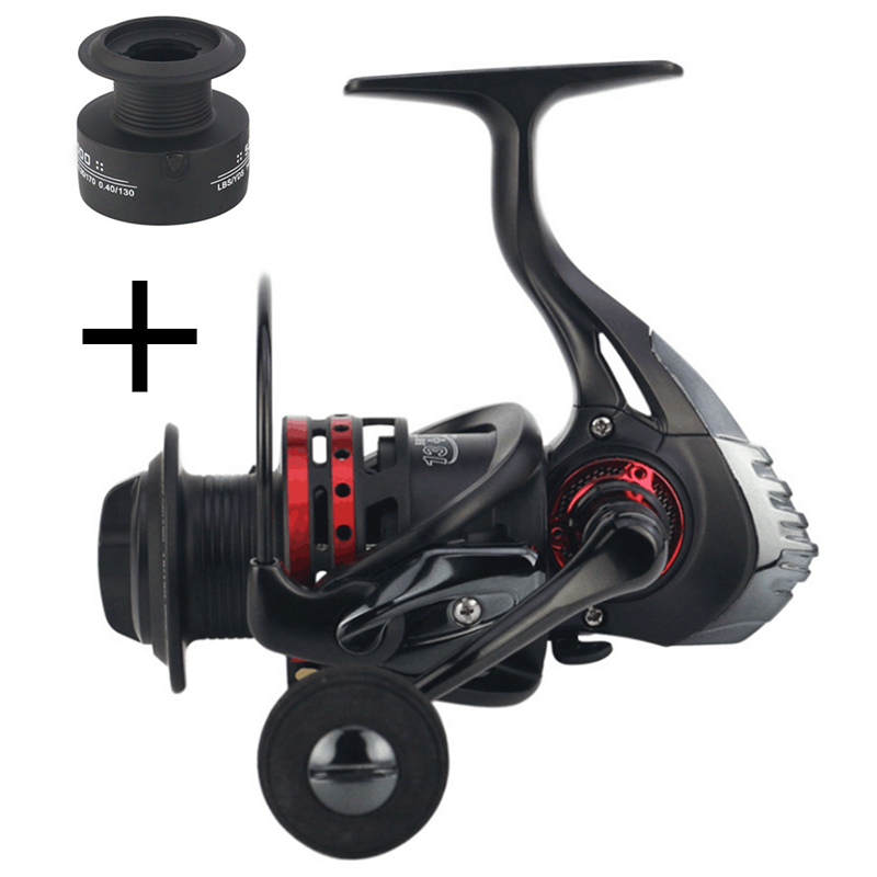 NEW YUMOSHI FISHING REEL Carbon Drag 19KG metal Spinning Reel 13+1BB 5.5:1 carp fishing reels baitcasting spinning wheel pescaXM seaknight spinning reel cm ii 2000 3000 4000 5000 max drag 13kg 9 1bb 5 5 1 carbon drag spinning fishing reel for carp fishing