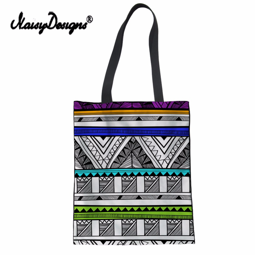 NoisyDesigns Canvas Environmental Protection Mom Shopping Bag Vintage Printing Fashion Women 39 s Handbags Tote Bag Books Shoulder in Shopping Bags from Luggage amp Bags