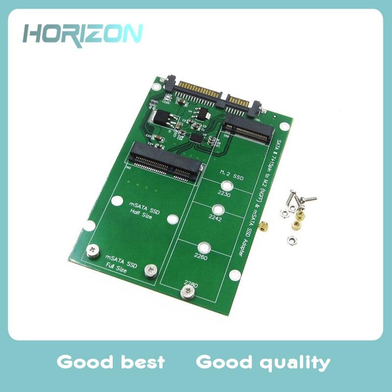 MSATA и M.2 (B-ключ NGFF) несколько размеров SSD SATA 3 III адаптер передачи карты ...