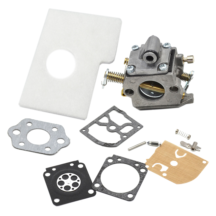 Carburetor Air Filter Repair Rebuild Kit For STIHL MS170 MS180 MS 170 180 017 018 Chainsaw Zama C1Q-S57B, 1130 120 0603 38mm cylinder piston rings needle bearing kit for stihl ms180 ms 180 018 chainsaw
