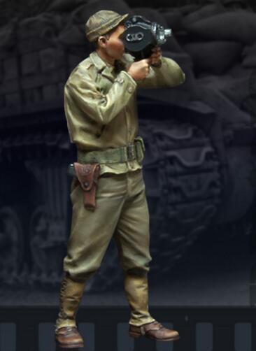 1/35 Resin Figures US Army War Correspondent 1pc