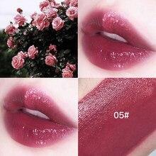 1Pc uroda makijaż szminka w płynie błyszczyk wiśnia czerwony kolor odcień trwały nawilżający nieprzywierający kubek Lip Glaze kosmetyki TSLM2