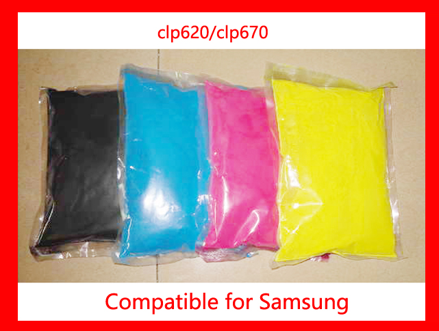High Quality Compatible for Samsung clp620/clp670/620/670 Chemical Color Toner Powder Free Shipping high quality color toner powder compatible for konica minolta c203 c253 c353 c200 c220 c300 free shipping