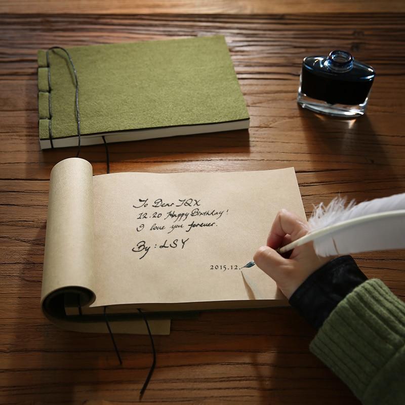 Army Green Vintage Notebook Represatation Books