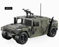 Hot 1:16 scale modern military weapon diecast Hummers jeep Armored car model pull back alloy toys collection with light & sound