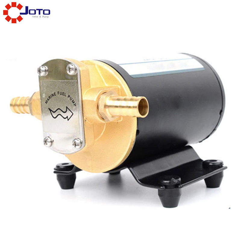 DC 12V Gear Oil Pump /Diesel/Fuel/Scavenge/Oil Transfer/Marine Use oil leakage suction pipe siphon tube hose manual fuel transfer pump sucker fuel tank180cm auto vehicle necessary ad1002