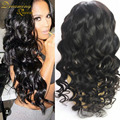 Hotsale Glueless Lace Front Human Hair Wigs Brazilian Virgin Loose Wave Full Lace Human Hair Wigs For Black Women With Baby Hair