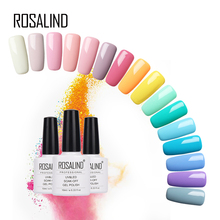 Rosalind 10ML 58 Pure Colors For Selection Nail Gel Polish U