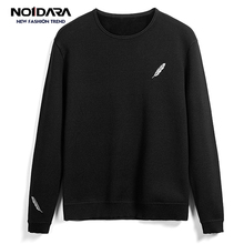 No.1 dara 2018 O-Neck feather Mens Sweater Slim Fit Knitting sueter hombre Casual Tops Hot Brand Sweater Men Agasalho Masculino dara o briain edinburgh