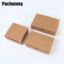 10 adet/grup Kraft kağıt uçak karton paketi kutuları el sanatları hediye Kraft kağıt ambalaj kutuları 19022802