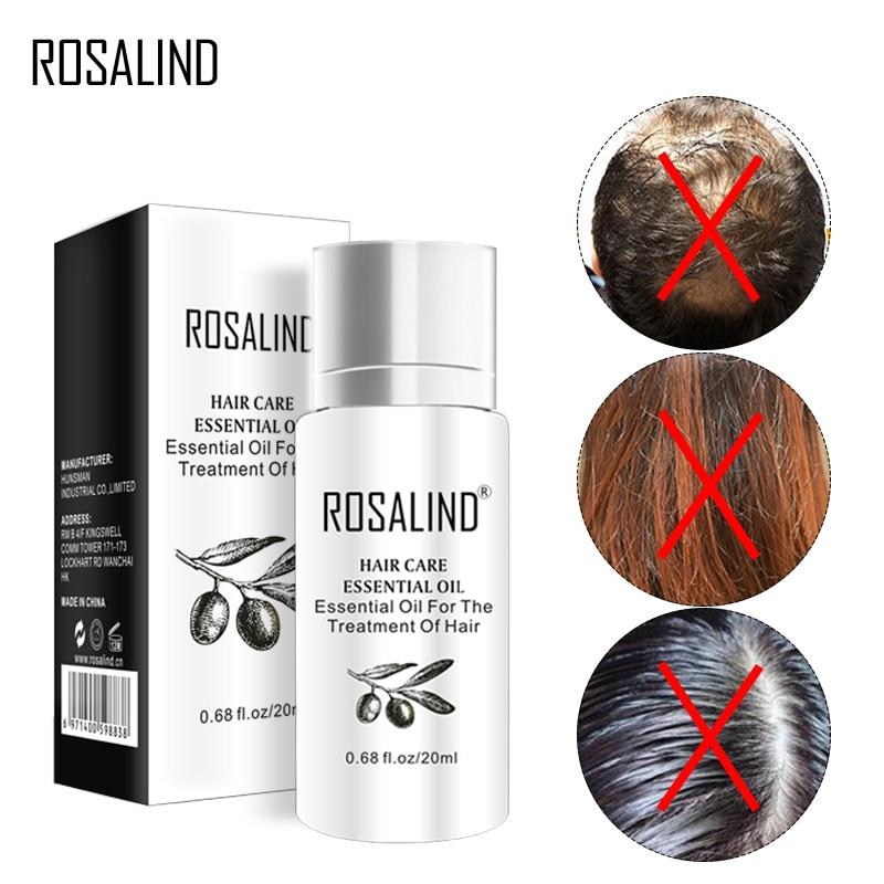 ROSALIND 20ml Treatment Hair Serum Hair Treatment Mask Keratin For Hair Nourish Scalp Repair Dry Damage Hair Care
