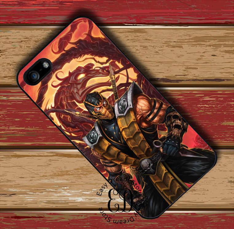 Mortal Kombat X SCORPION สำหรับ Huawei P7 P8 P9 P10 P20 P30 Mate 8 9 10 20 Pro Lite honor 8 9 10