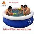 Надувной бассейн, надувные водные виды спорта надувной бассейн семья дети детей плавать бассейн 240 Х 63 см