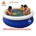 inflatable swimming pool inflatable water sports inflatable pool family kids children swim pool 240X63cm