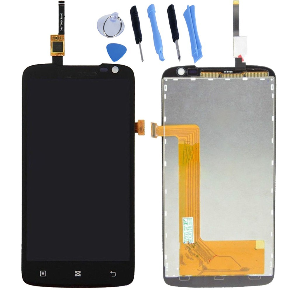 HK Post Free shipping for Lenovo S820 Original LCD Screen and Touch Screen Digitzer and Tools Assembly free shipping original rsag7 820 4555 roh power panel led32k01
