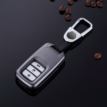 folding car remote key case for Honda Accord 9 Crider City 2015 2016 HRV  Waterproof Silicone