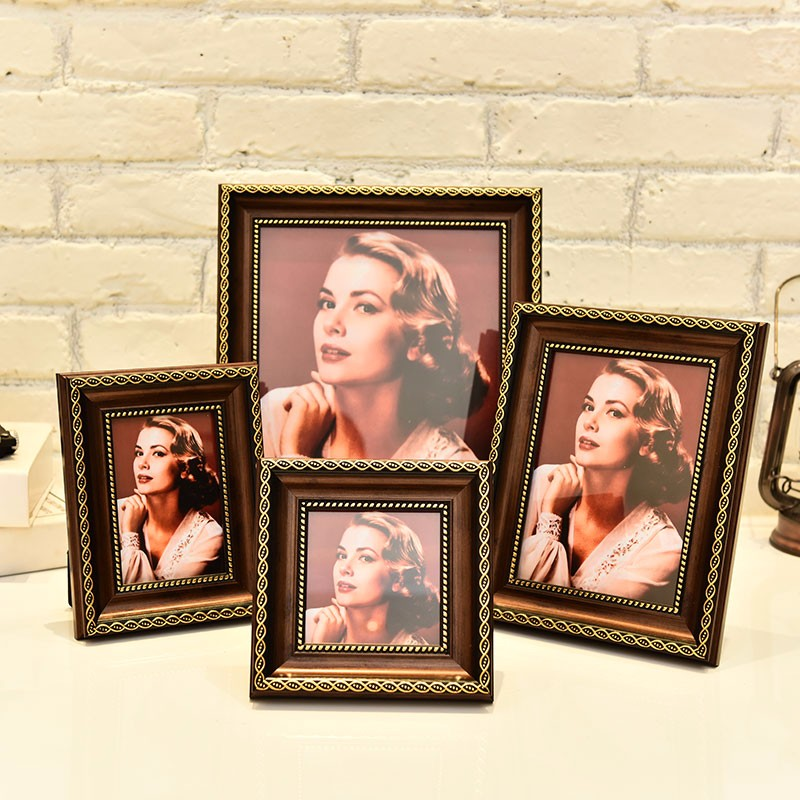 Modern-Art-Wooden-Frame-Wall-Picture-Frame-Desktop-Decoration-Retro-Style-Frame-Home-Photo-Frame-Placed