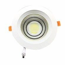 10 шт./лот, DHL/FedEx, 10 Вт 15 Вт 25 Вт 30 Вт ультра яркий Встраиваемый светодиодный потолочный светильник 110 В/220 В светодиодный внутренний потолочный светильник