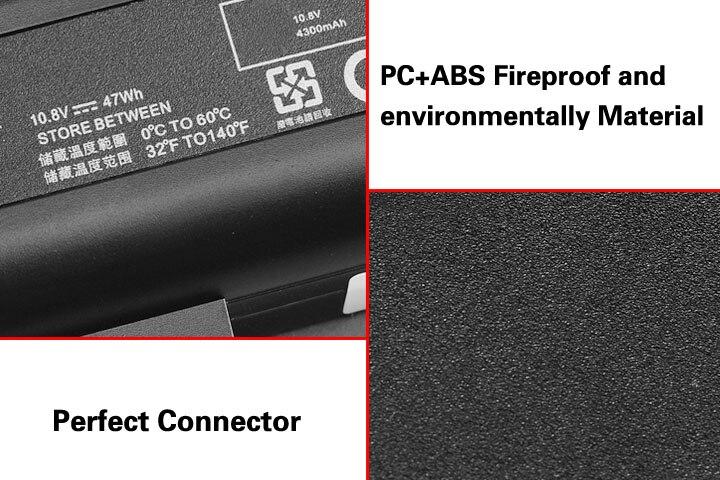 Cellule de la corée Nouveau EV06 Batterie pour HP Pavilion DV4 DV5 DV6 pour Compaq Presario CQ50 CQ71 CQ70 CQ60 CQ61 CQ45 CQ41 CQ40 HSTNN-LB73 - 4