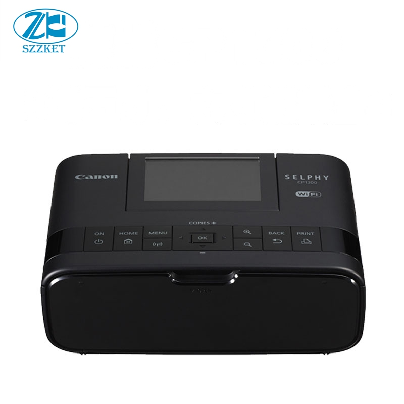 CP1300 photo printer Multiple ways to connect to print CP1200 upgrade Portable color photo printer English version