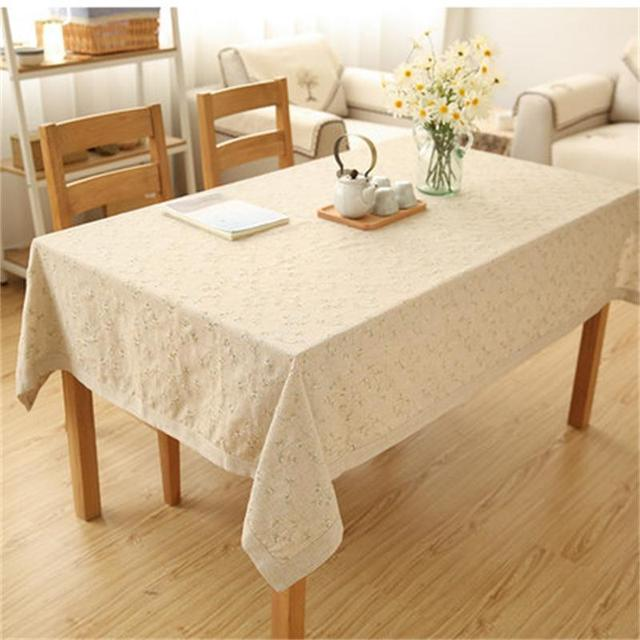Embroidered Table Cloth Coffee Garden Simple Wind Tablecloth Round Cover Towels