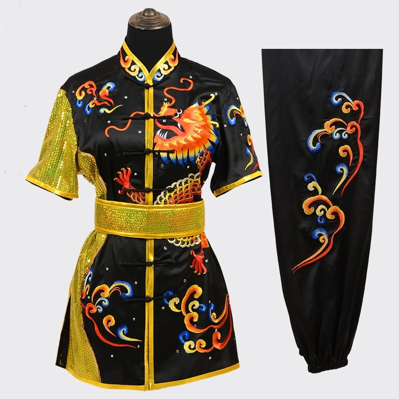 Wushu Clothing Uniform Wushu Costume Kung Fu Uniform Clothes Martial Arts Uniform Chinese Warrior Costume Exercise FF2024