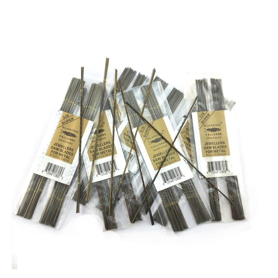 144 Uds cuchillas de Sierra de calar para herramientas de corte de trabajo de metal Dientes rectos 2/0, 3/0, 4/0, 5/0, 6/0, 7/0, 8/0 sierras herramientas eléctricas 25 uds cuchillas de sierra, cuchillas de sierra de vástago en T, cuchillas surtidas para Sierra de corte de Metal de madera y plástico, hechas con HCS/HSS/BIM