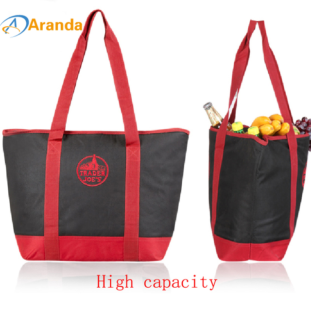 Camping bags camping fresh bag large capacity ice bag Camping large size refrigerator can be frozen fresh