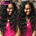 Virgin Burmese Wavy 3pcs Human Hair Bundles Natural Black 100g/pc,100% Unprocessed Burmese Wave Curly Hair Burmese Loose Wave