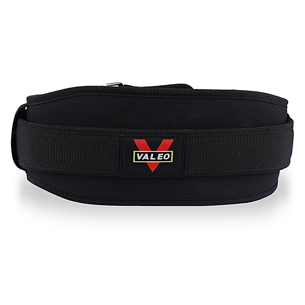 Fitness Lifting Belt: VALEO Nylon EVA Weight Lifting Squat Belt Weight Lifting