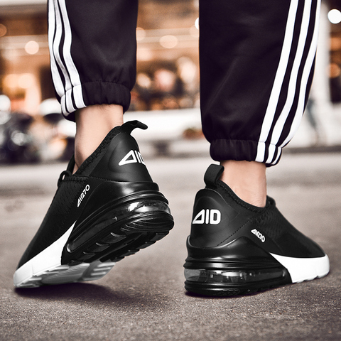 Men Casual Shoes Spring Autumn Breathable Sneakers Men Air Cushion Mesh Sports Shoes Trend Trainers Men Shoes Big Size Islamabad