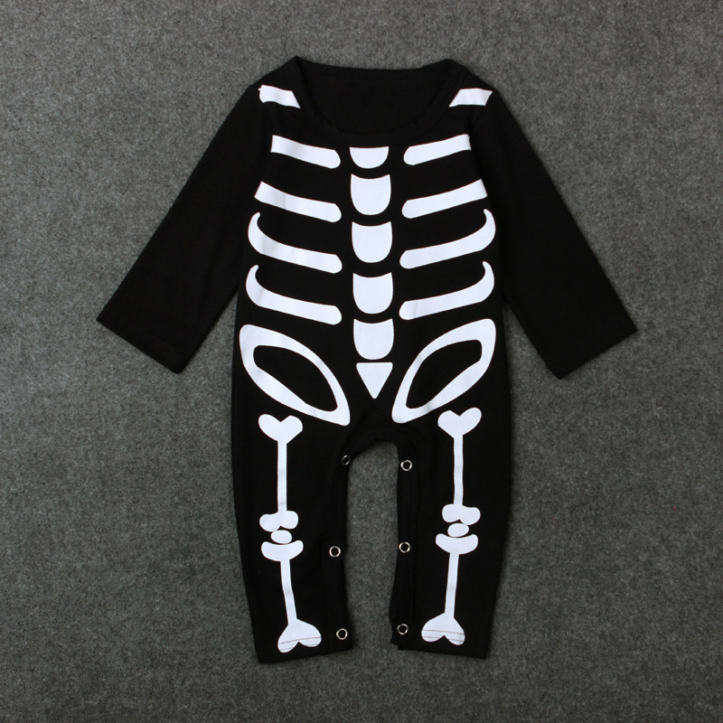 Children 39 s Spring And Autumn Clothes Boys And Girls 39 bone Long Sleeve Children 39 s Clothes Halloween Children 39 s Clothes