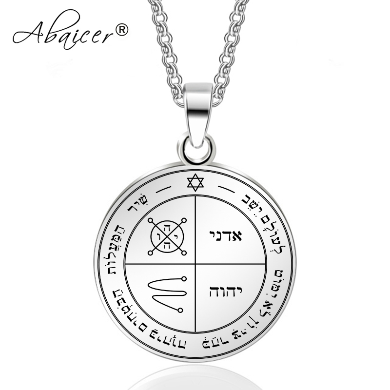 Abaicer Triskele Necklaces Triskeles Pendants Stainless Steel