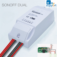 Itead Sonoff Dual Smart Home 2 Way Wifi Timing Switch APP Wireless Remote Control DIY Timer