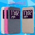 Nillkin Новый Кожаный Case-Sparkle Leather Case For HTC One X9 Телефон Case С Флип Вид из Окна