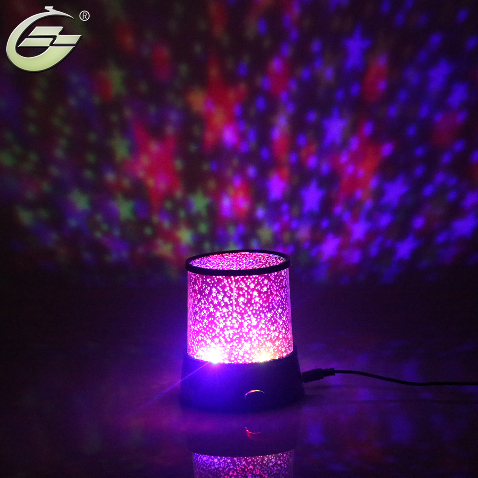 Amazing Flashing Colorful Sky Star Master LED Night Light Lovely Sky Starry Star Projector Novelty Gifts led projector lamp colorful star master sky starry moon night light cosmos master for children gift led projection lamp