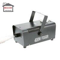 disco fog machine 400W 3m wire control wedding rock machine stage projector for home DJ smoke machine