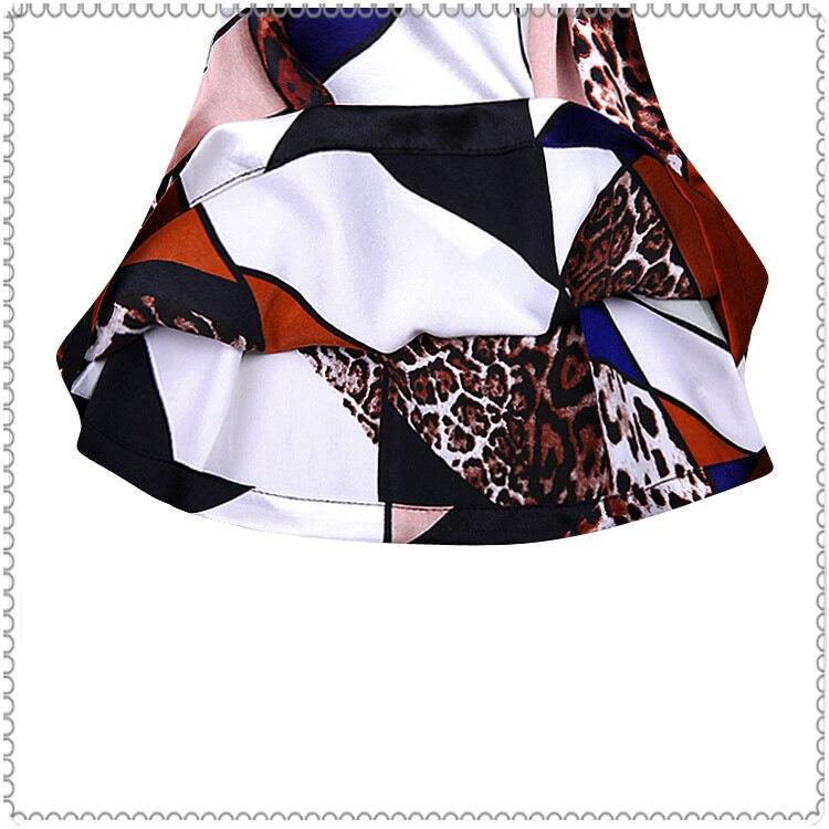 Shirts 2015 Femal Lâche Tops Chemise De Plus Femmes Blouse Court Soie Chauve Été Shirt Élégante Blouses 4 Mousseline Ol 2 À En Souris 3 Manches 1 ORA1qw7