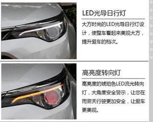 Image 5 - 1 takım araba tampon başkanı işık Toyota Levin far 2017 ~ 2019 yıl LED/HID xenon Corolla auris axio kafa lambası Levin sis lambası