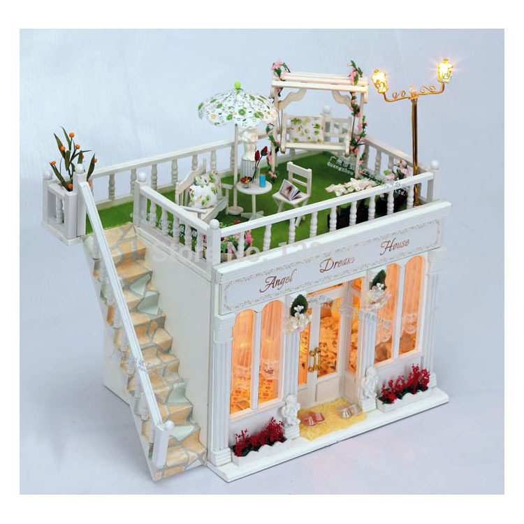 Aliexpress com   Buy 13813 Hongda diy dollhouse bedroom wooden doll dream  house miniature for decoration with voice lights kids gifts from Reliable  doll. Aliexpress com   Buy 13813 Hongda diy dollhouse bedroom wooden