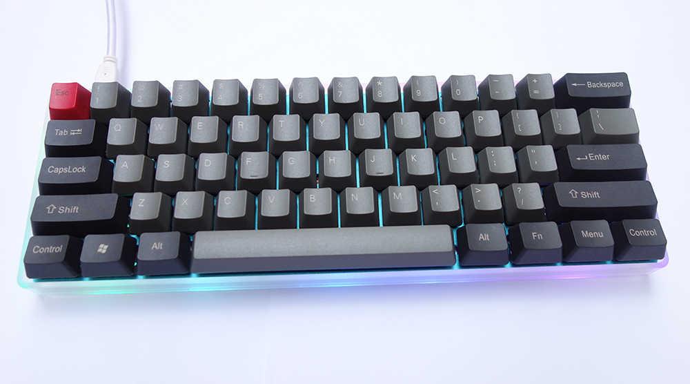 NPKC GH60 V2.0 механическая клавиатура со светодиодной подсветкой и RGB под-рост полностью программируемые по QMK прошивки Бесплатная доставка